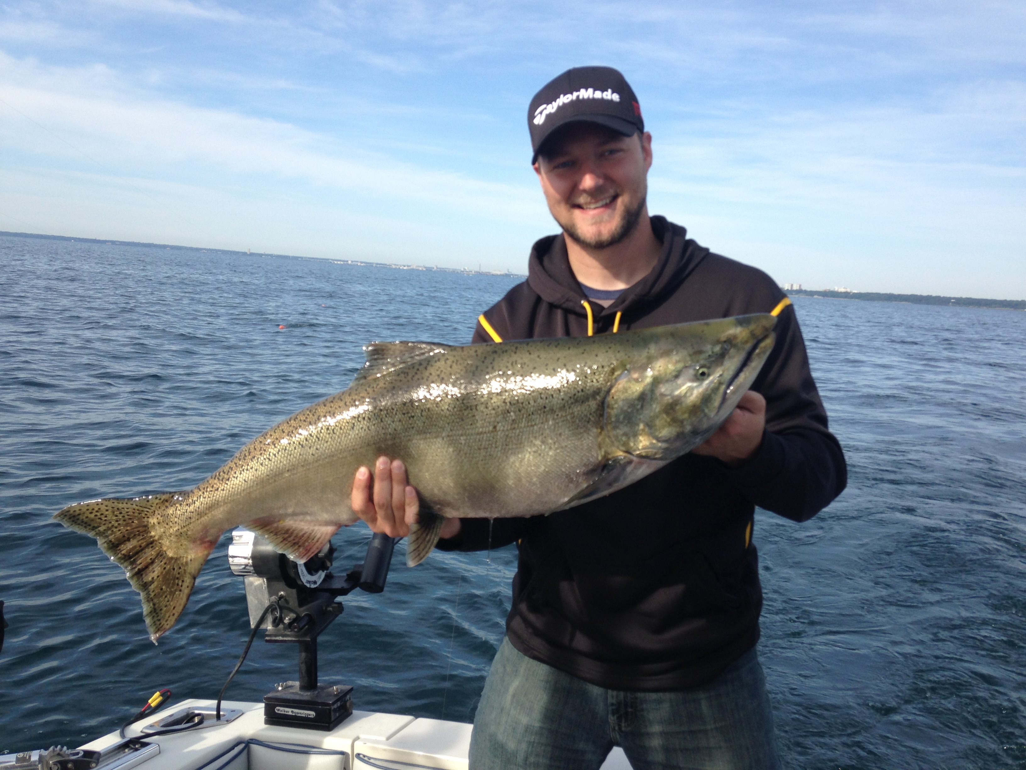 Salmon fishing articles and reports captain jim hirt for Salmon fishing wisconsin